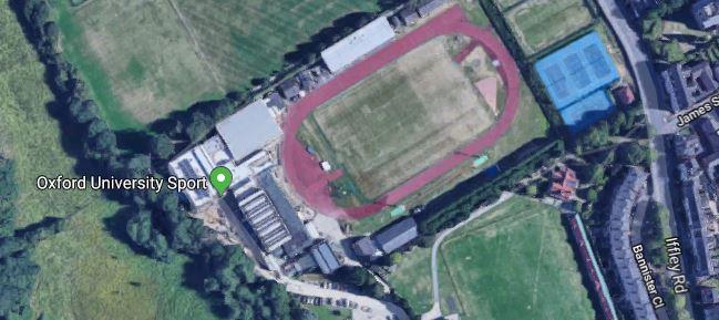 Iffley Road Track